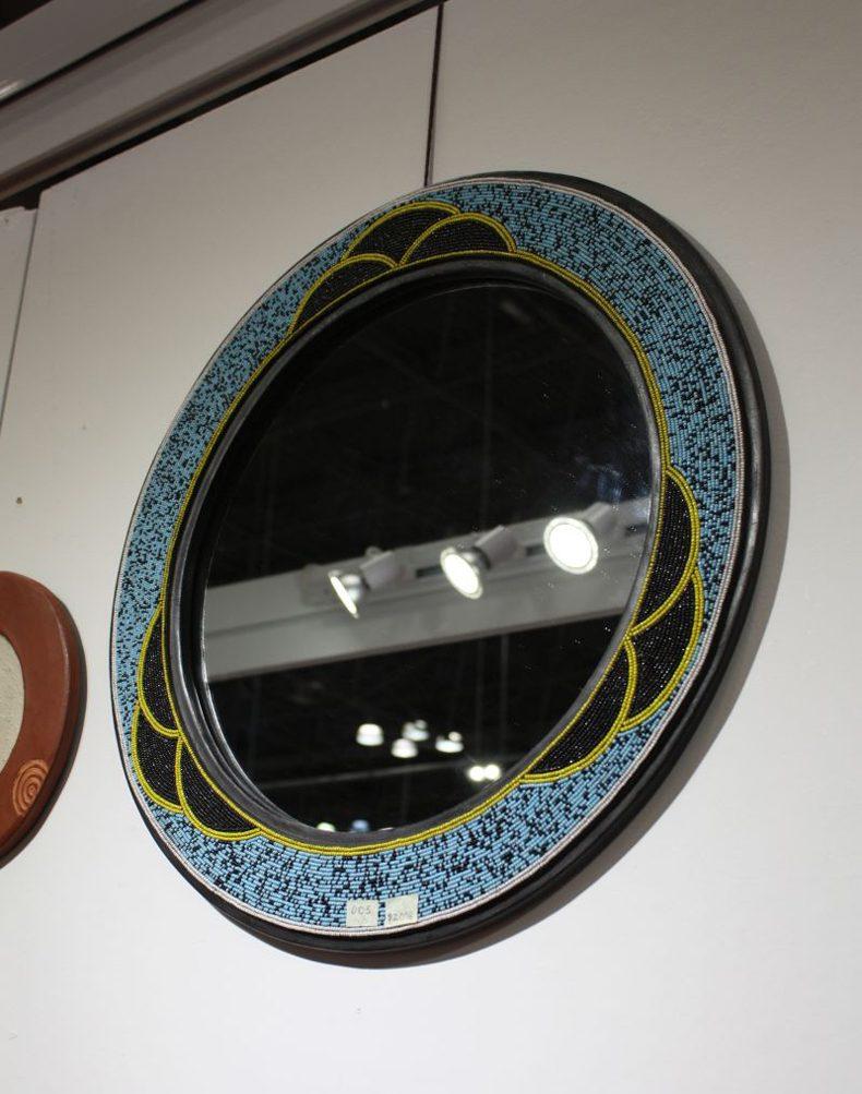 Large Round Hanging Wall Mirror