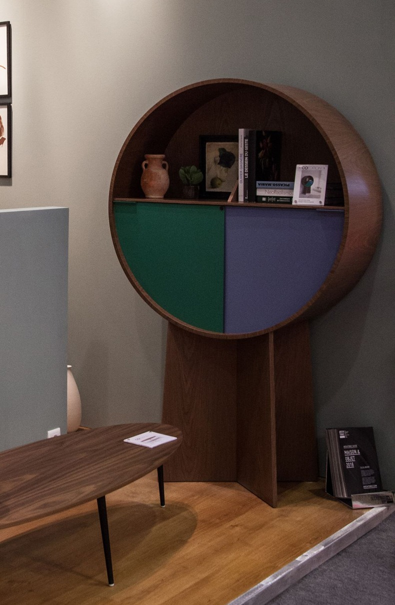 Luna Cabinet For An Accent Living Room Storage