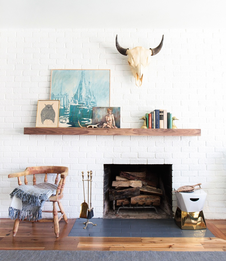 Mantel Shelf Layer Decor