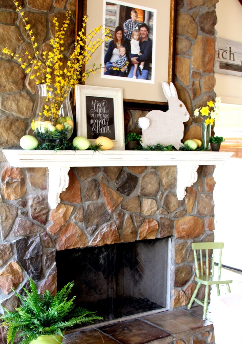 Mantel Shelf Seasonal Decor