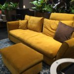 What Colors To Use for Creating Chic Living Room With Yellow Beige Sofa