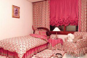 Analogous Bedroom Bright Shades