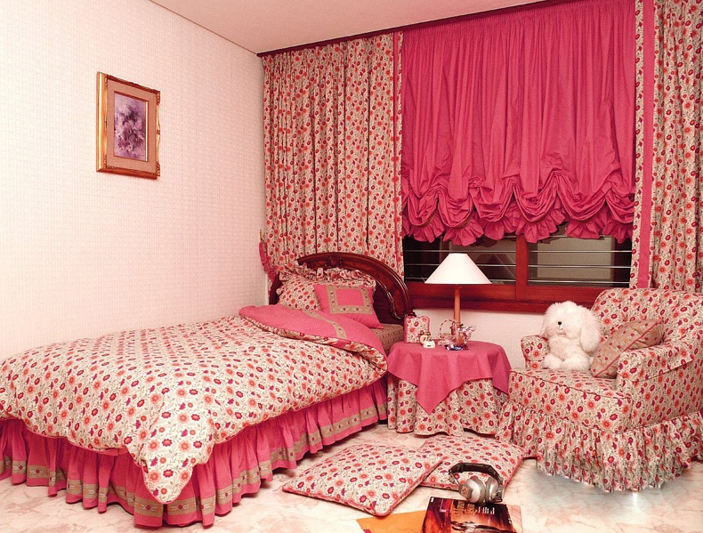 Pink Shades For Bedroom