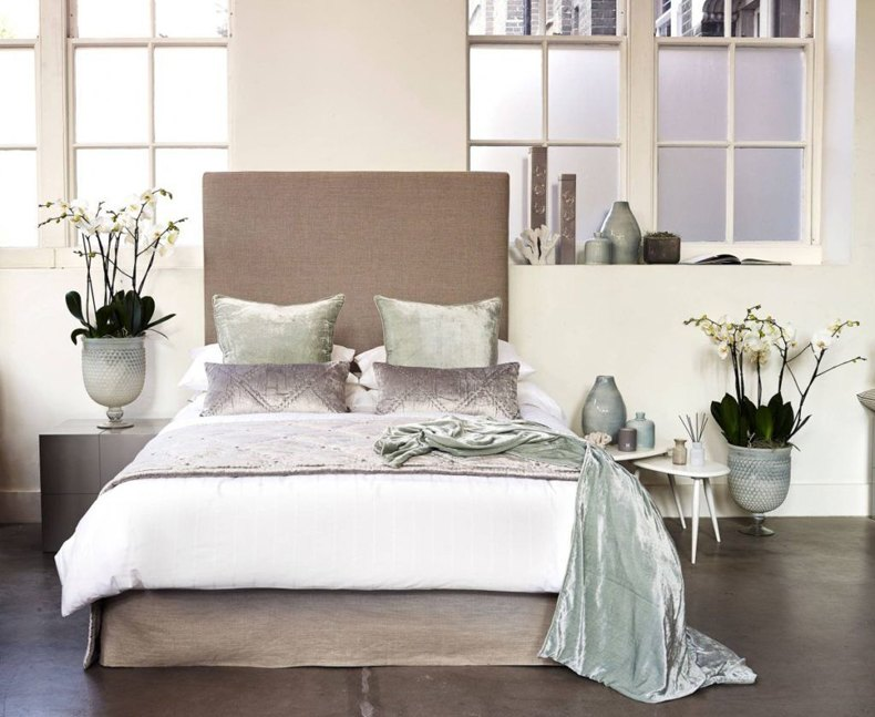 Analogous Color Bedroom Spa Colors