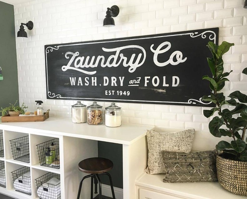 Vintage Laundry Room Decor Thebestwoodfurniture Com