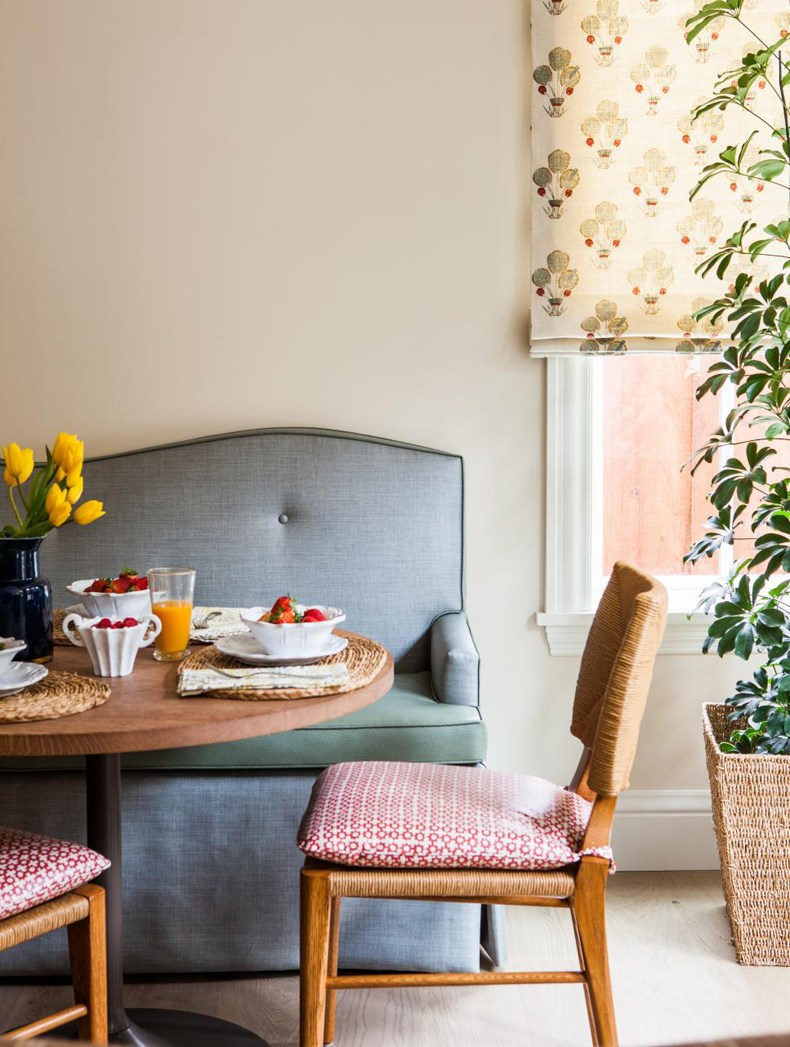 Upholstered Breakfast Nook Bench
