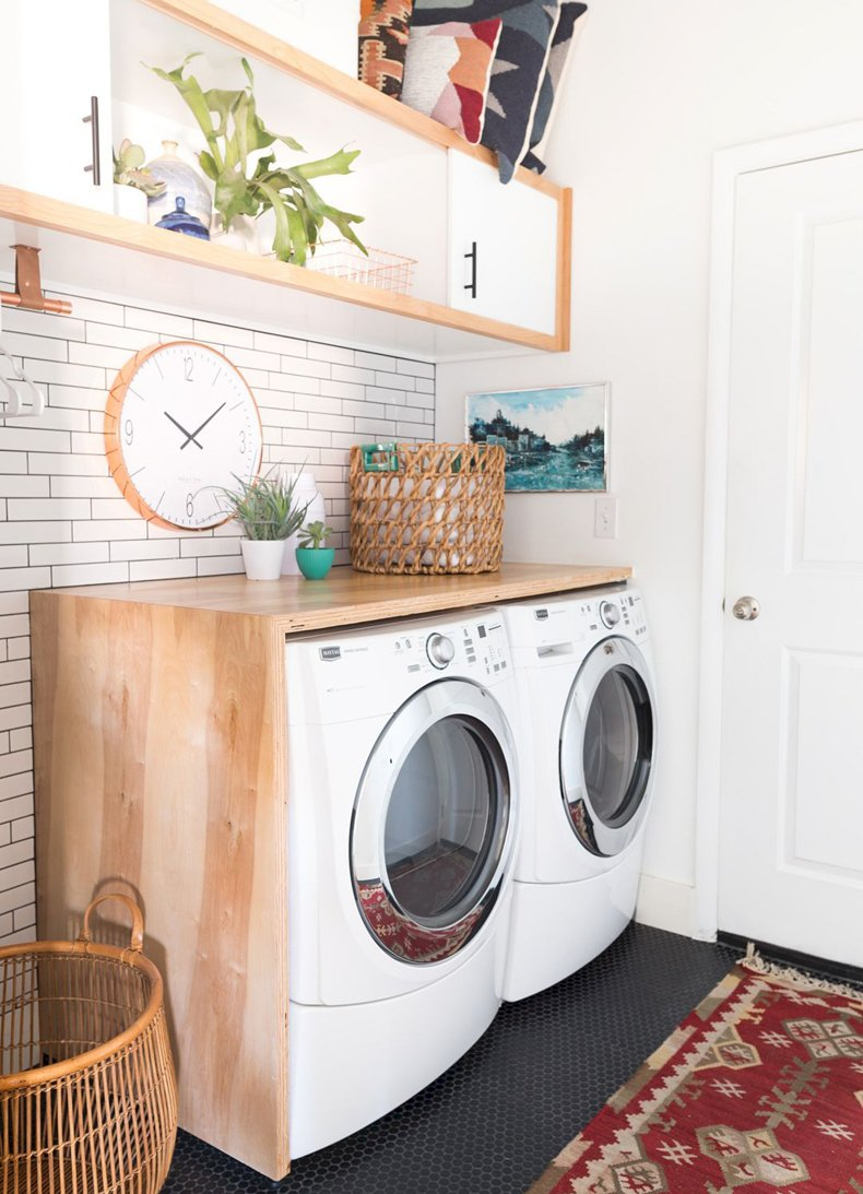 Vintage Laundry Room Clock