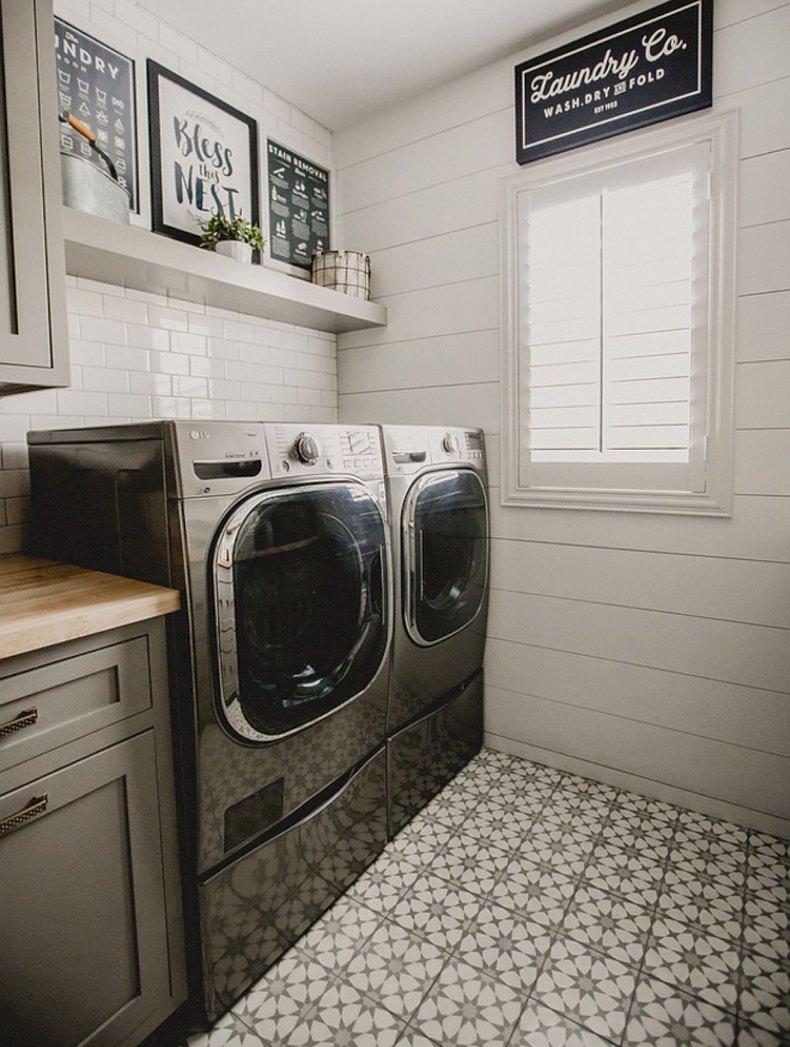 Framed Laundry Art