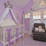 How to Make Beautiful Monochromatic Modern Baby Girl Nursery Decor
