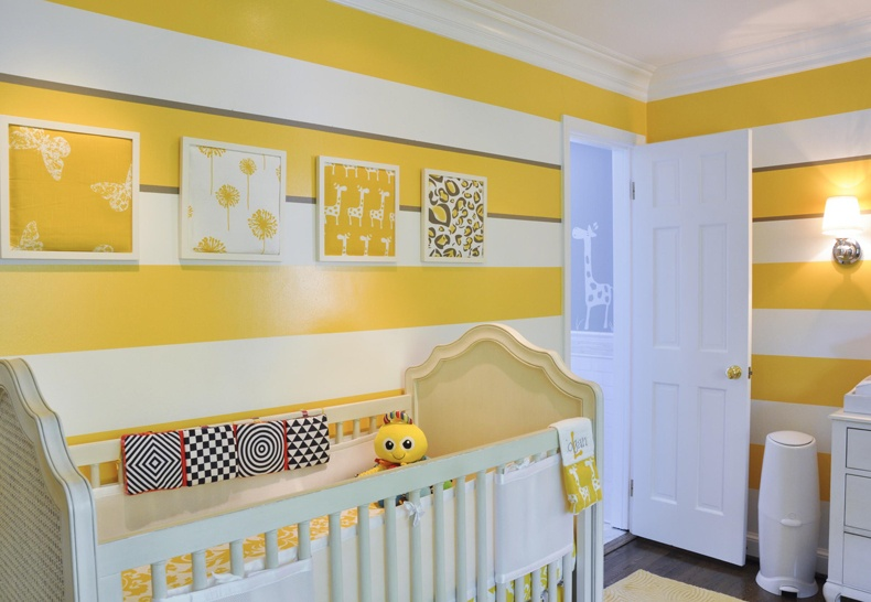 Monochromatic Nursery Sunny Yellow