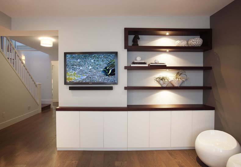 Mounted TV Cabinet Credenza