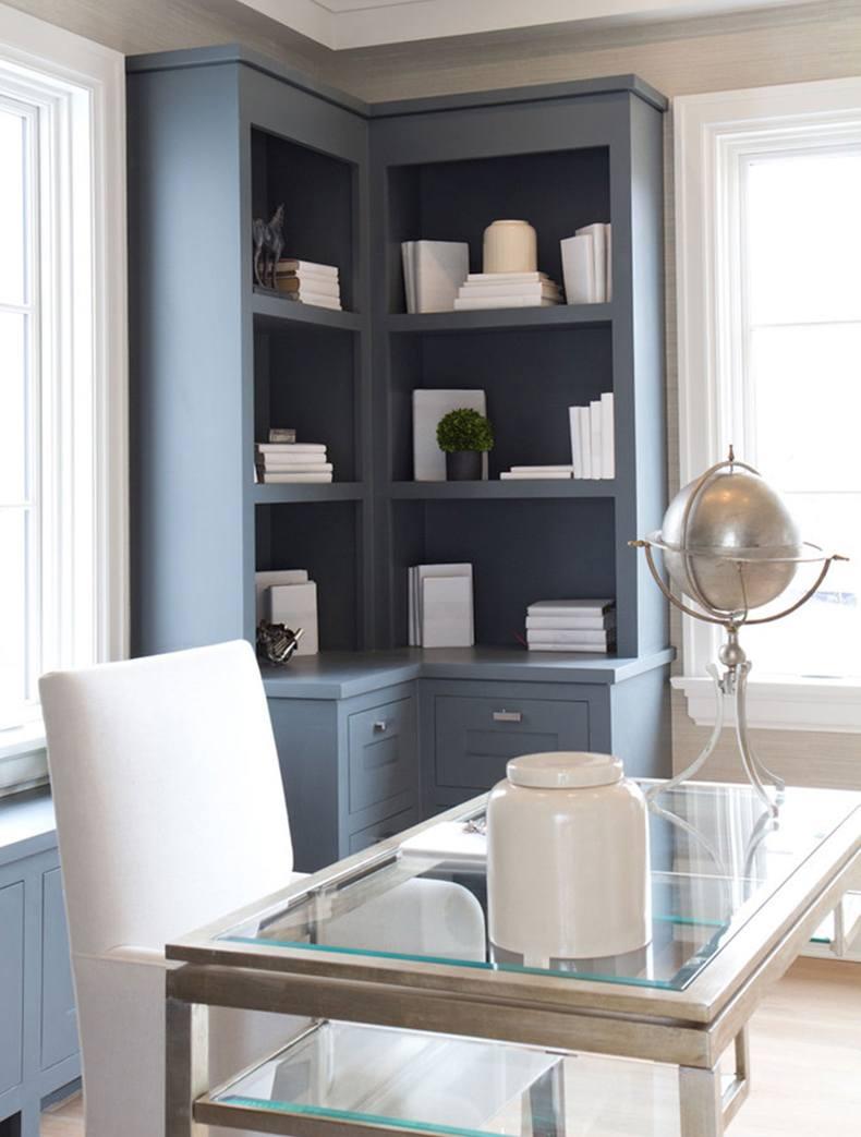 Office Corner Cabinet Bookshelves