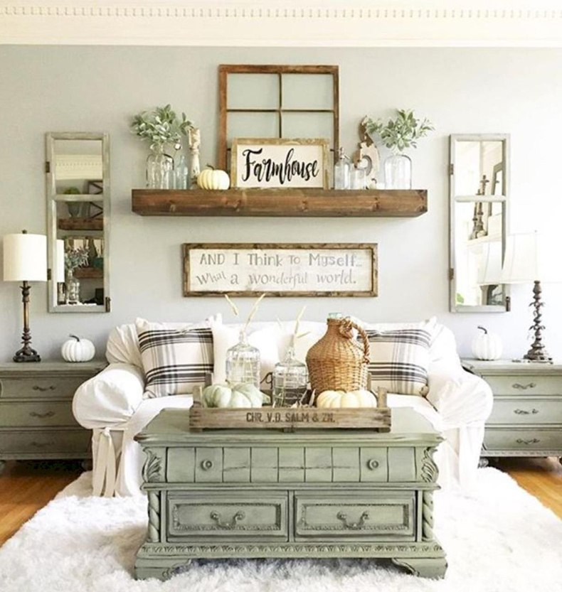 Speaking of sage green painted furniture you can easily transform some inherited furniture perfectly to your interior.