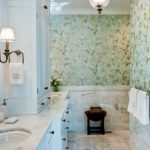 14 Tips to Choose Beautiful Contemporary Bathroom Wallpaper