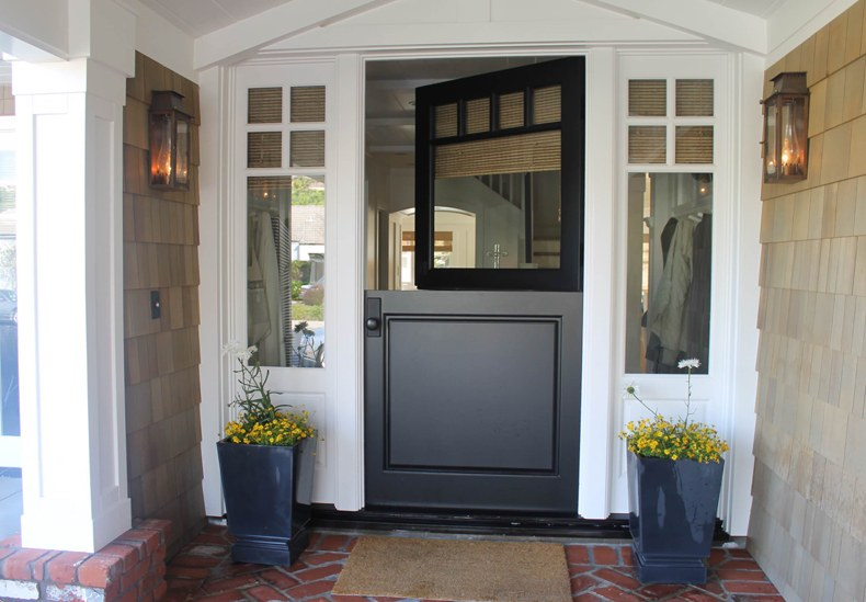 Traditional Front Porch Dutch Door