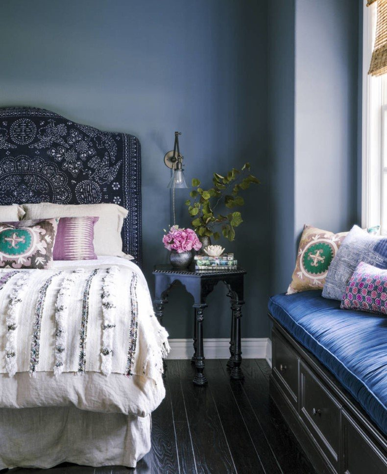 Jeweled Blue and Purple Furniture