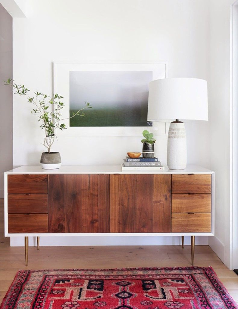 Mid Century Modern Entry Table