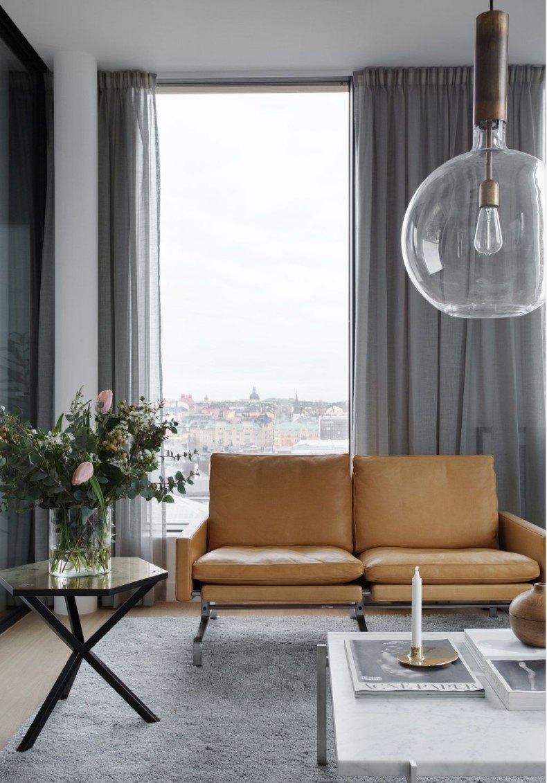 Modern Living Room Curtain