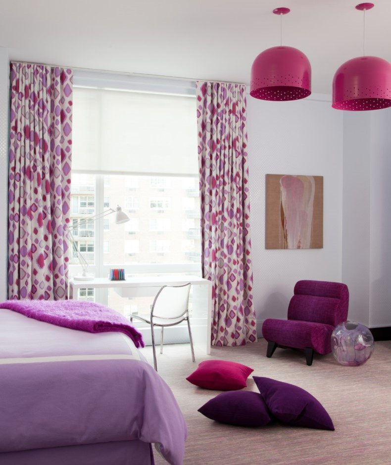 Pink and Purple Bedroom Furniture