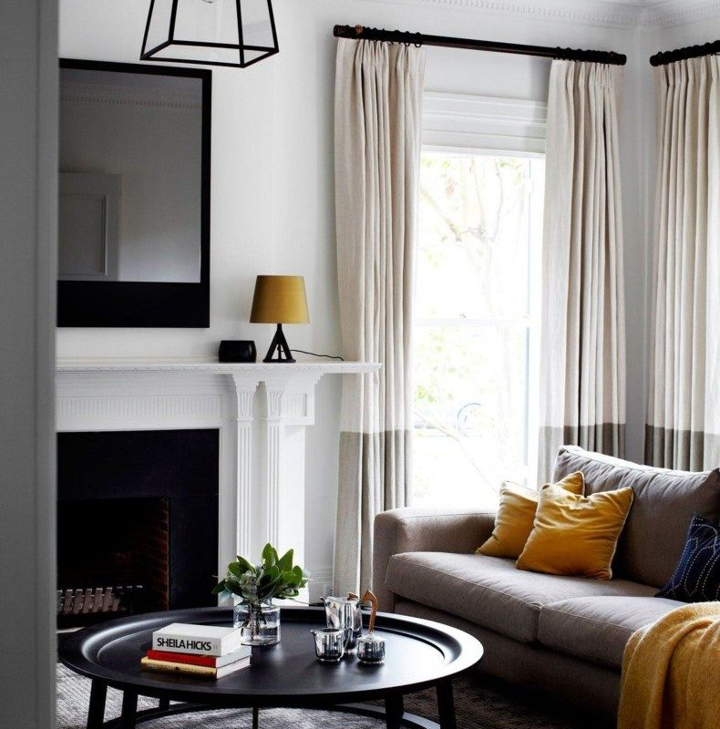 Most beautiful curtains for living room for Most beautiful living room furniture