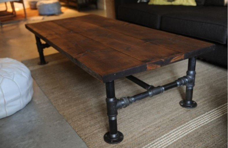 You may find the adorable industrial coffee table ideas to your living room that will complete decoration there.