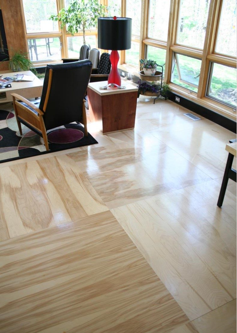 Giant Plywood Floor