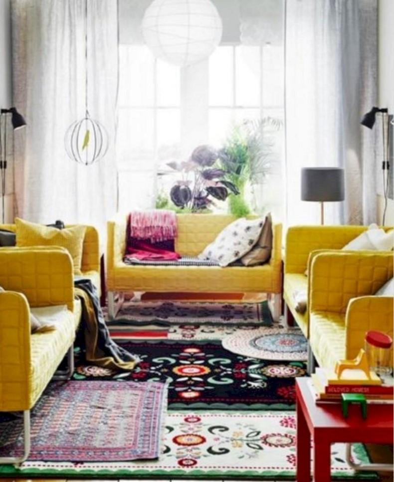 Layering Numerous Small Rugs