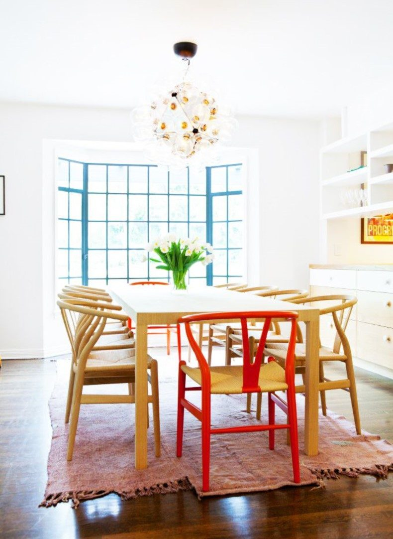 White Farmhouse Dining Table and Chairs
