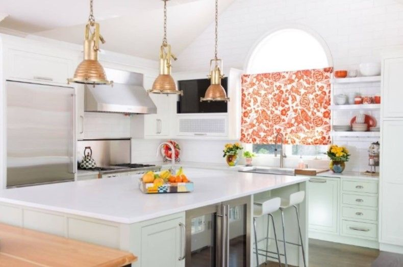Floral Kitchen Valance