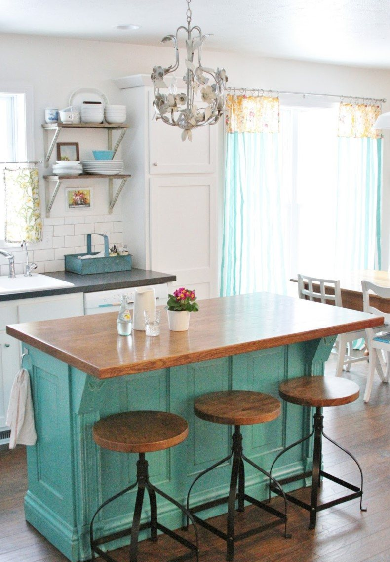 Image of: Custom Kitchen Island Designs 15 Gorgeous Ideas