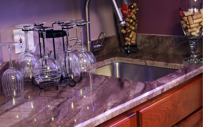 Purple Quartz Countertops