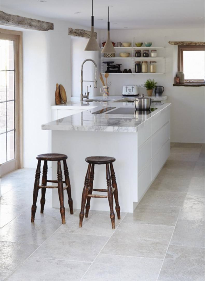 When you make farmhouse gray kitchen floor tile you must consider everything like designs, function and simplicity.