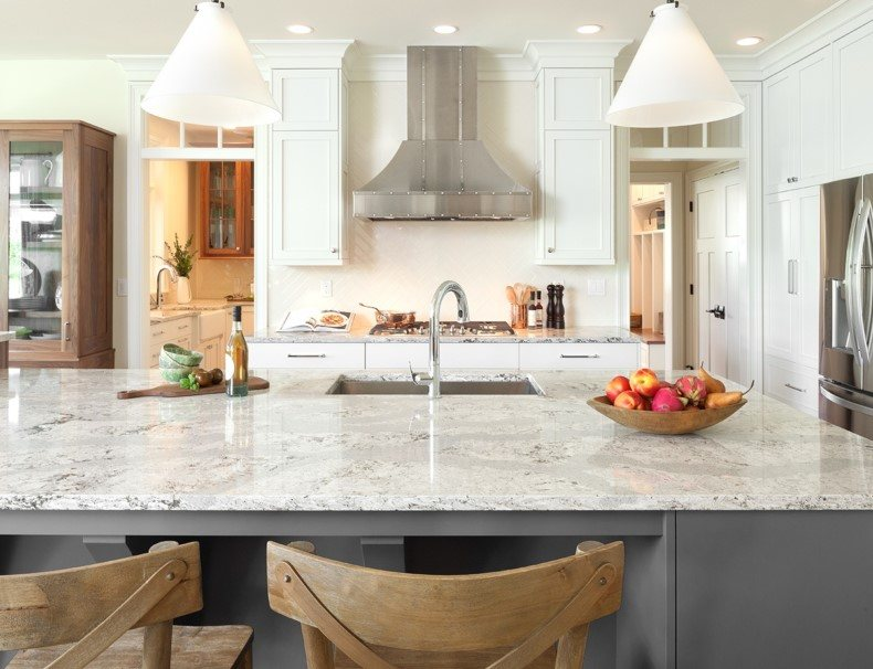 Haze Grey Quartz Countertops