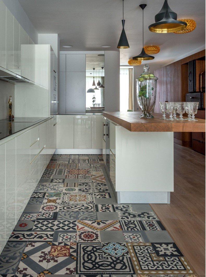 Kitchen Floor Patterns