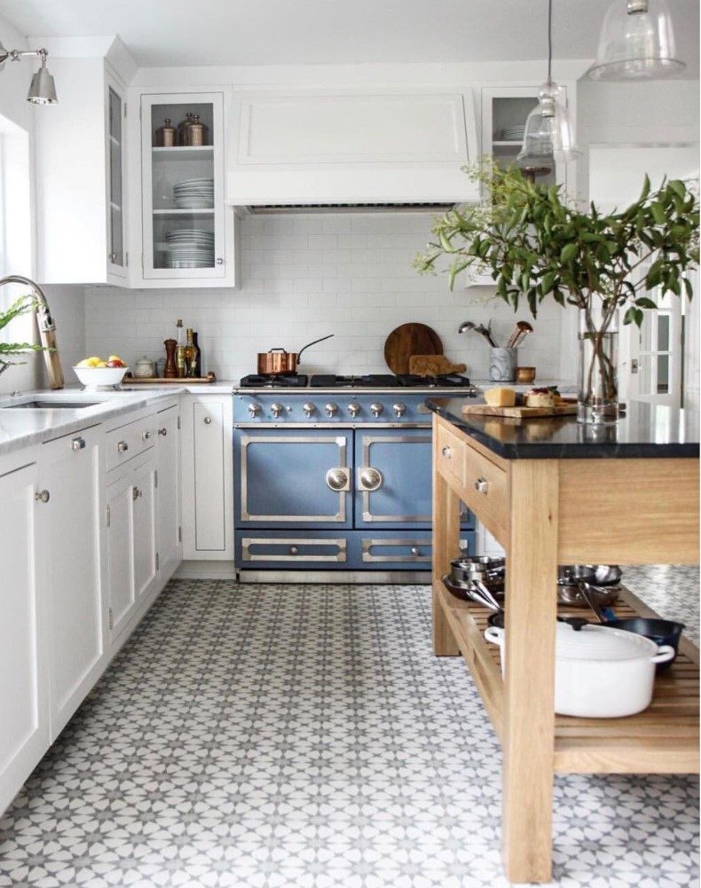 When you make retro kitchen floor tile you must consider everything like colors, designs, function and simplicity.