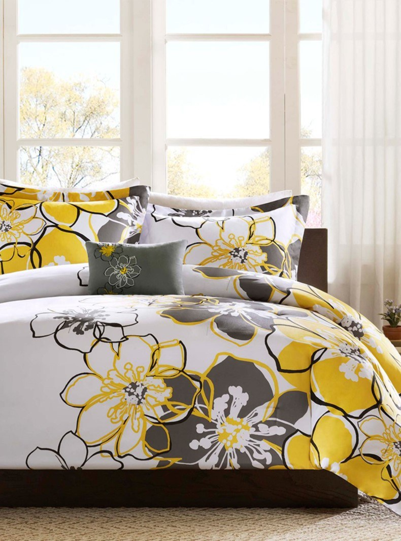 Large Floral Bedding Furniture