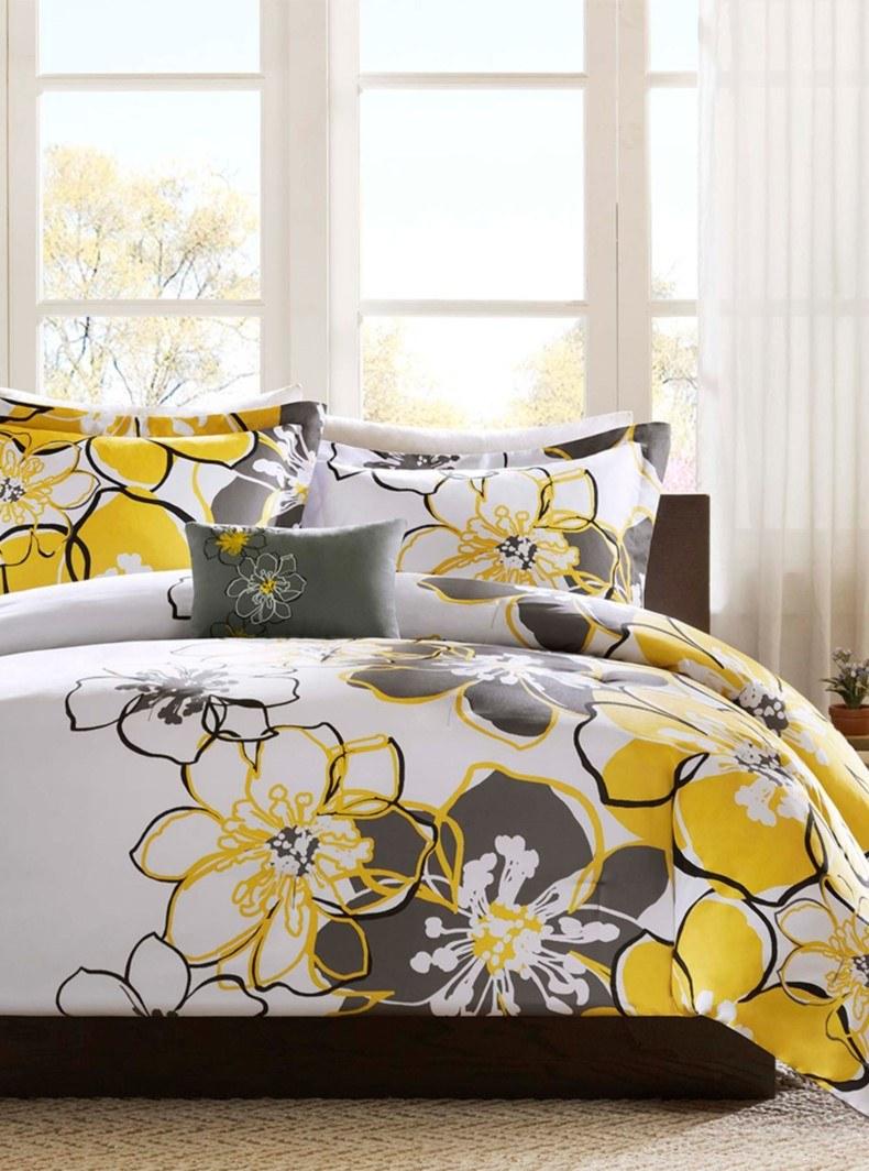 Large Floral Bedding Furniture