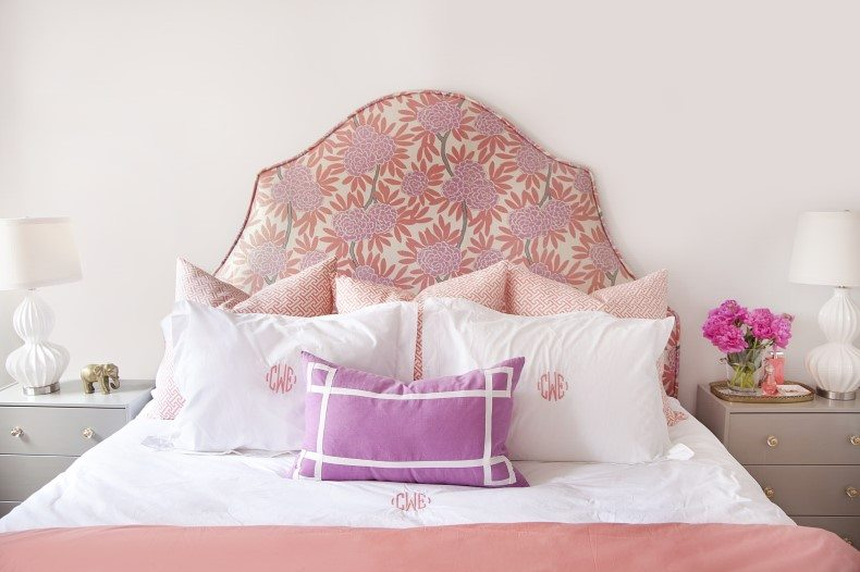 Printed Textile Headboard Fabric