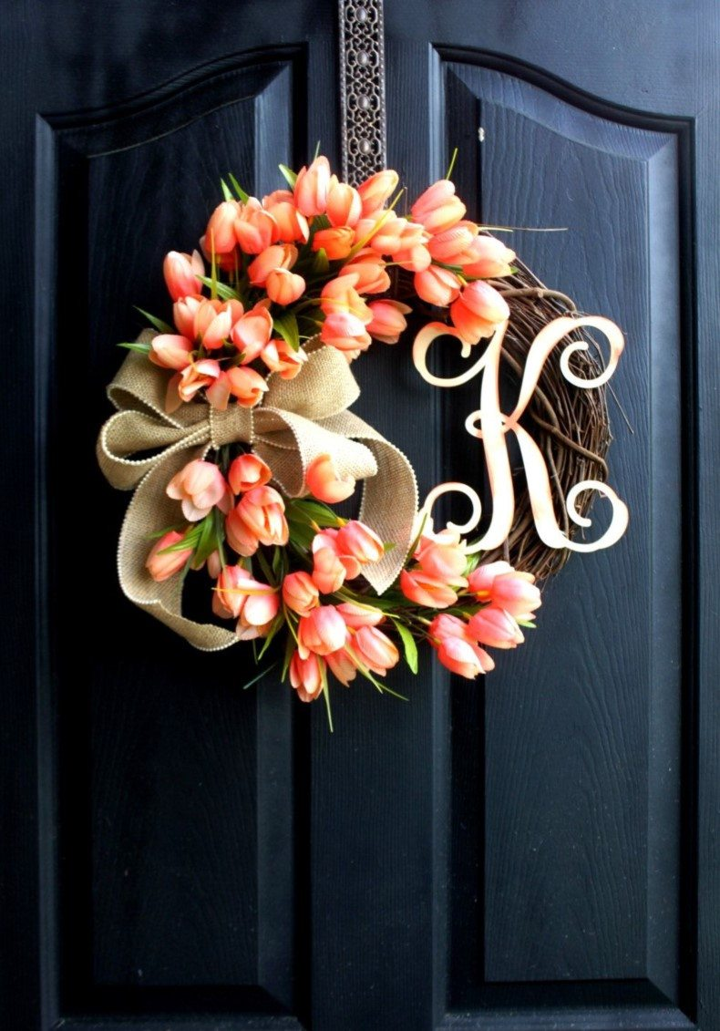 Tulip Wreath Flowers