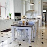 17 Beautiful Ideas of Farmhouse Floor Tile For Your Kitchen