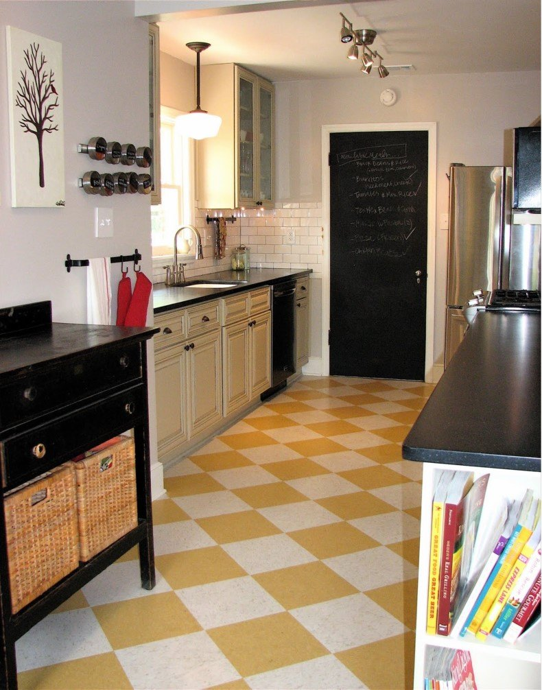 When you make farmhouse cream kitchen floor tiles ideas you must consider everything like colors, designs, function and simplicity.