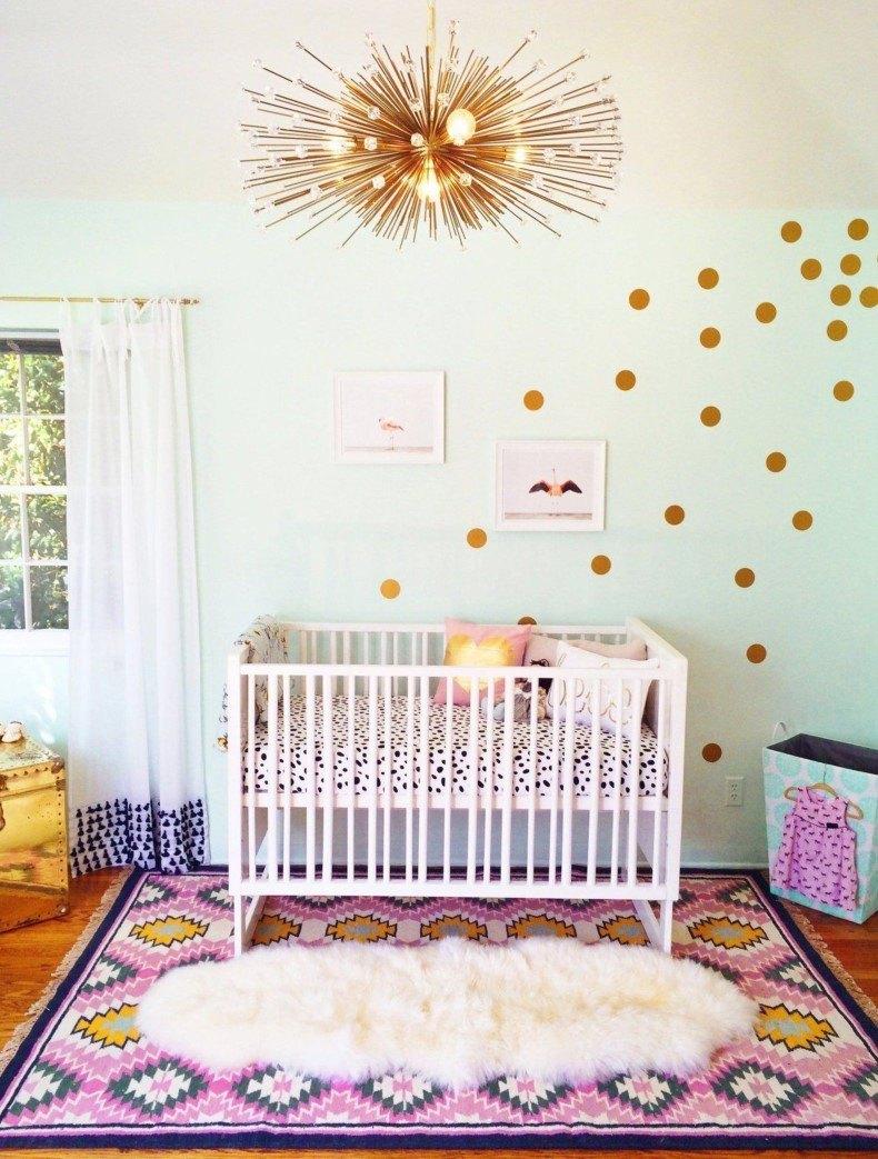 Boho Style Nursery Room