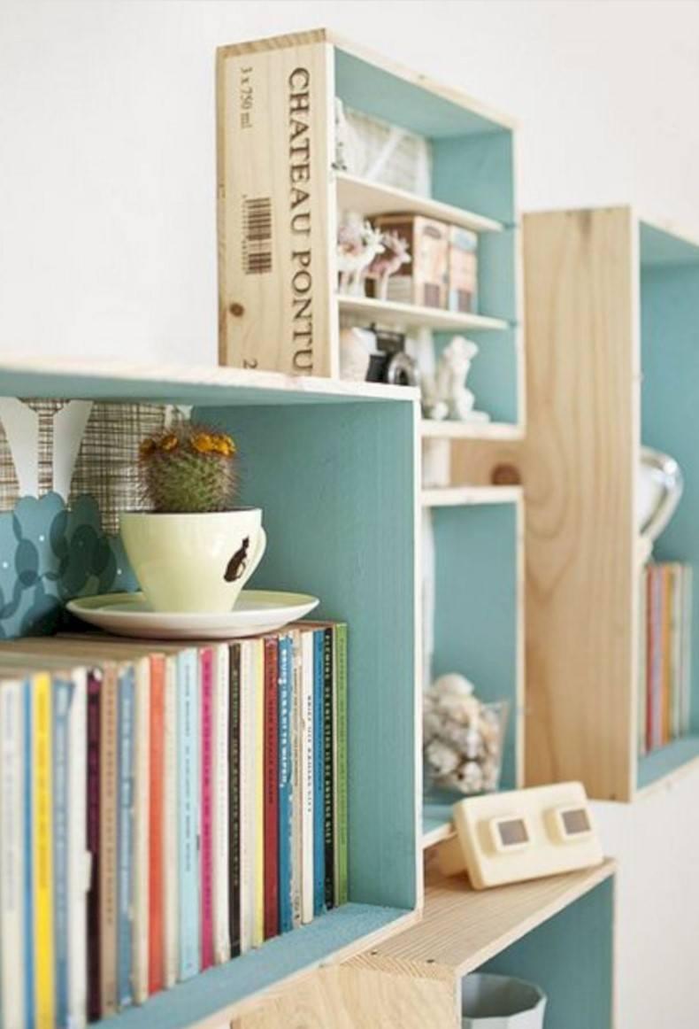 Boxed Wooden Shelves