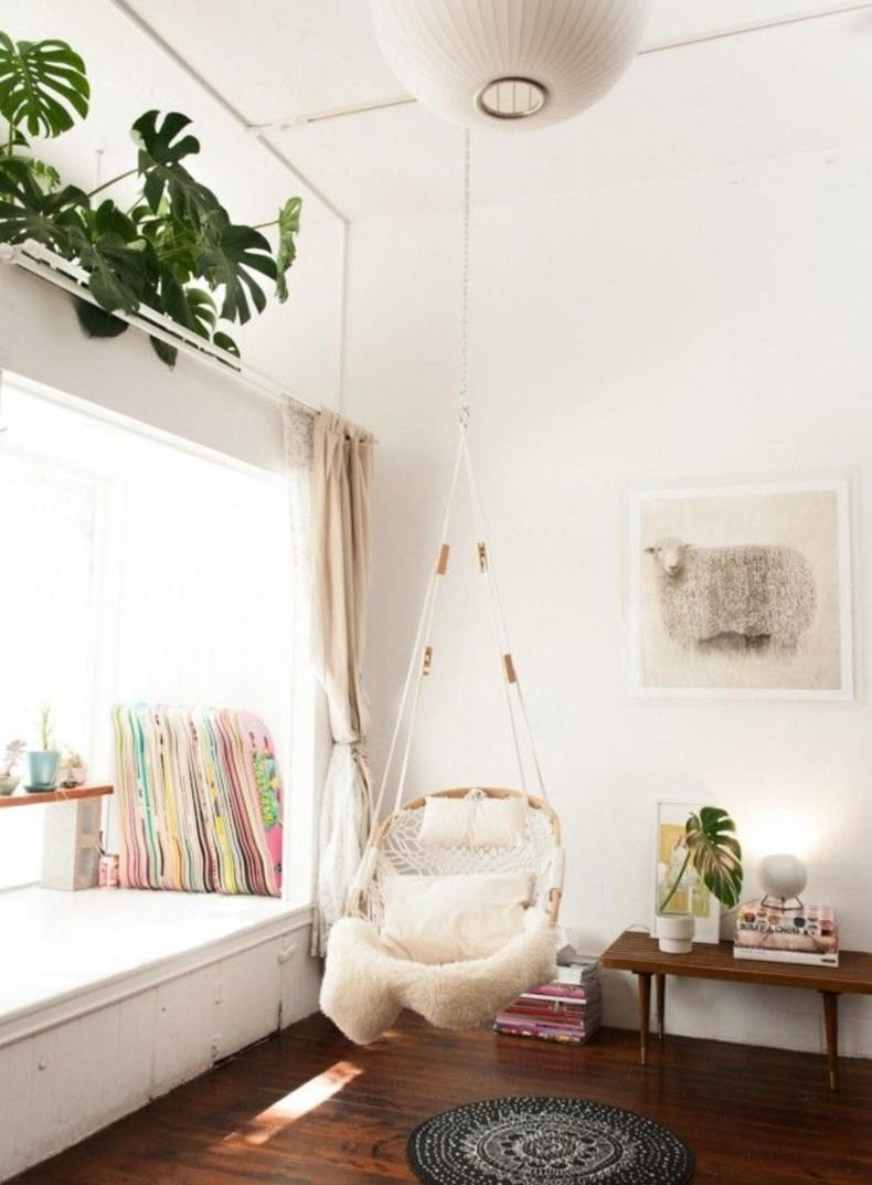 Corner Hanging Chair