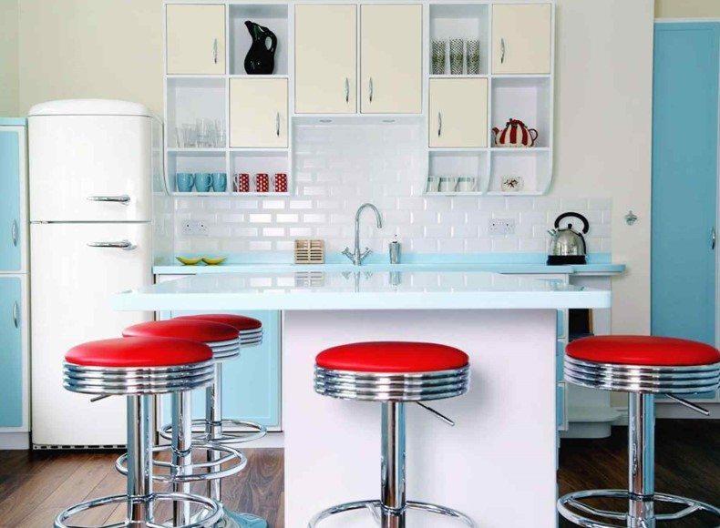 Padded Kitchen Bar Stools