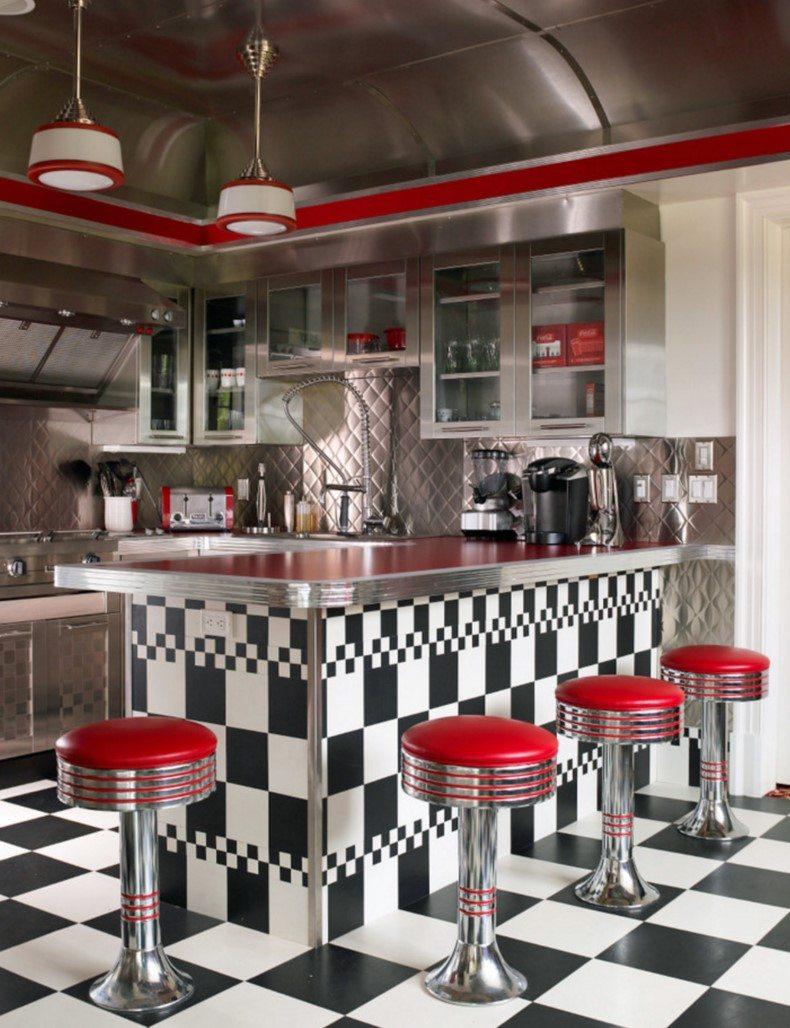 Retro Dinner Style Kitchen Ideas