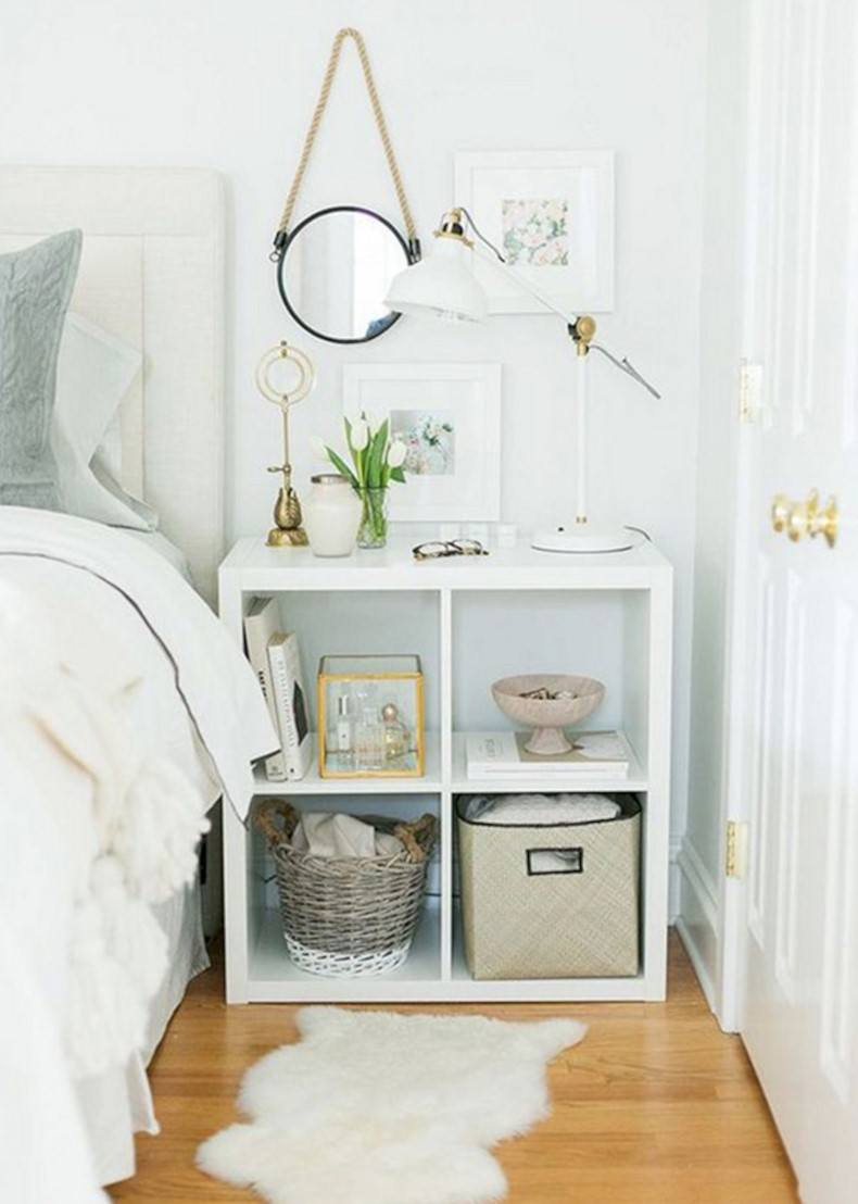 Small Bedside Shelf Ideas