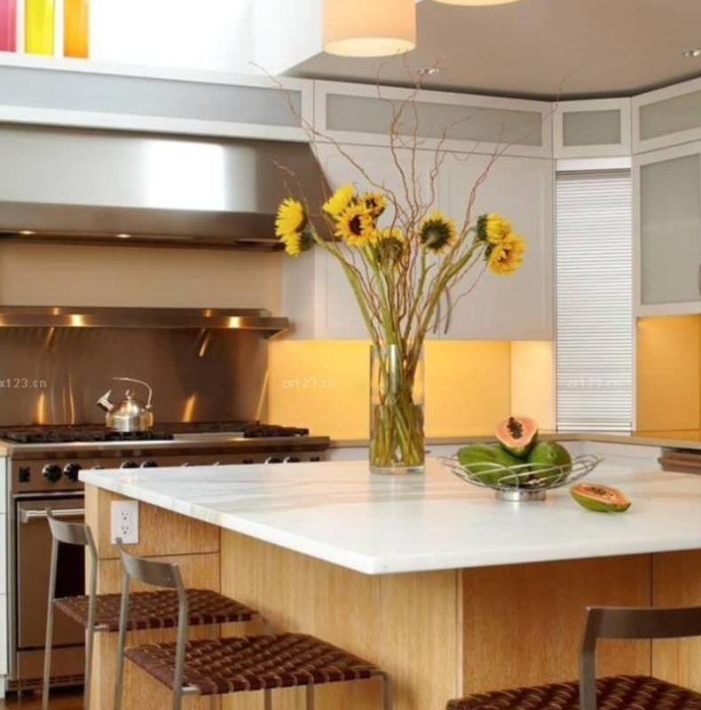 Awesome Kitchen Sun Flowers