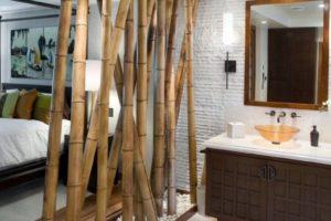 Bamboo Wall Divider
