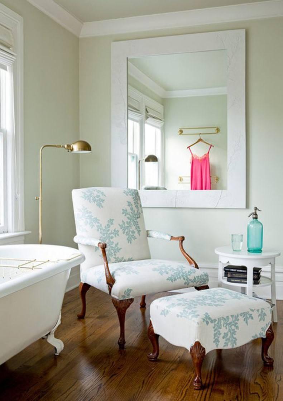 Chair Near Bathtub